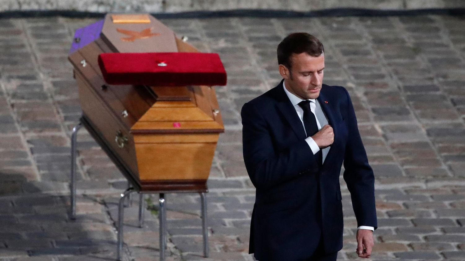 Macron Calls Promises A Strong Hand Against Radical Islamism