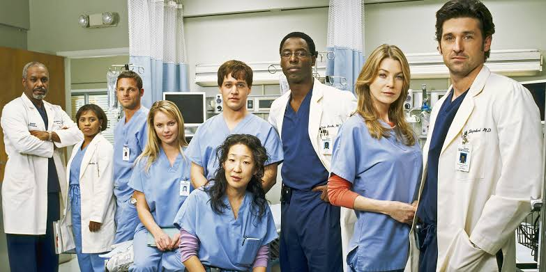Grey's Anatomy: Where one can see all the parts of  Gray's Anatomy?