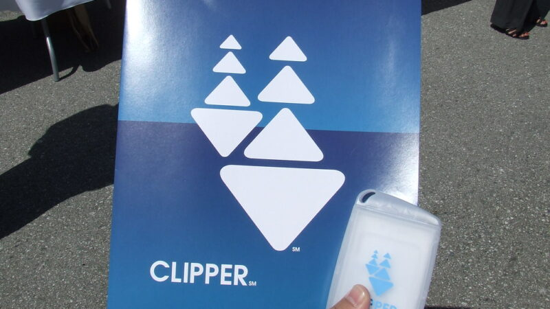 Clipper Transit Card