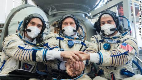 NASA astronaut and two Russian cosmonauts reached ISS!