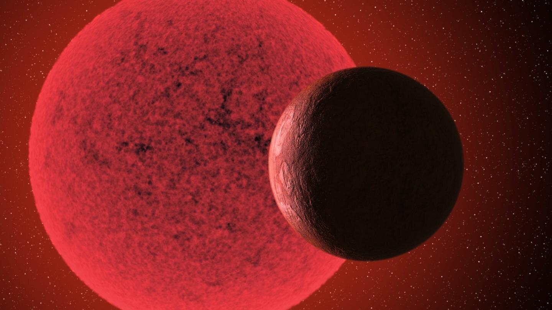 New Super-Earth Orbiting a Red Dwarf Star!