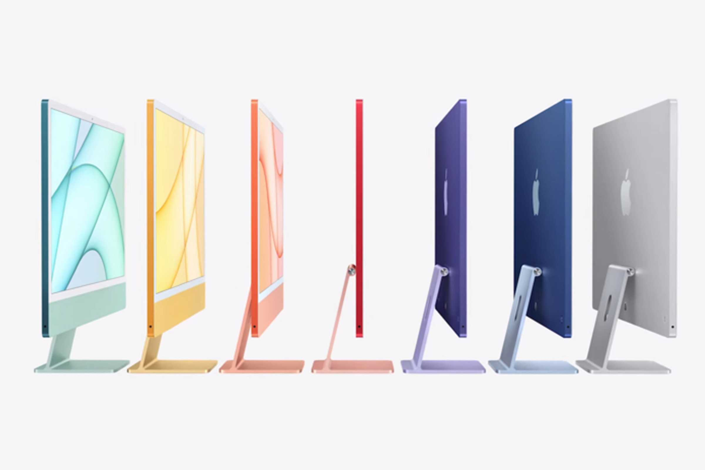 Apple's New iMacs with M1 Chipsets Are Here