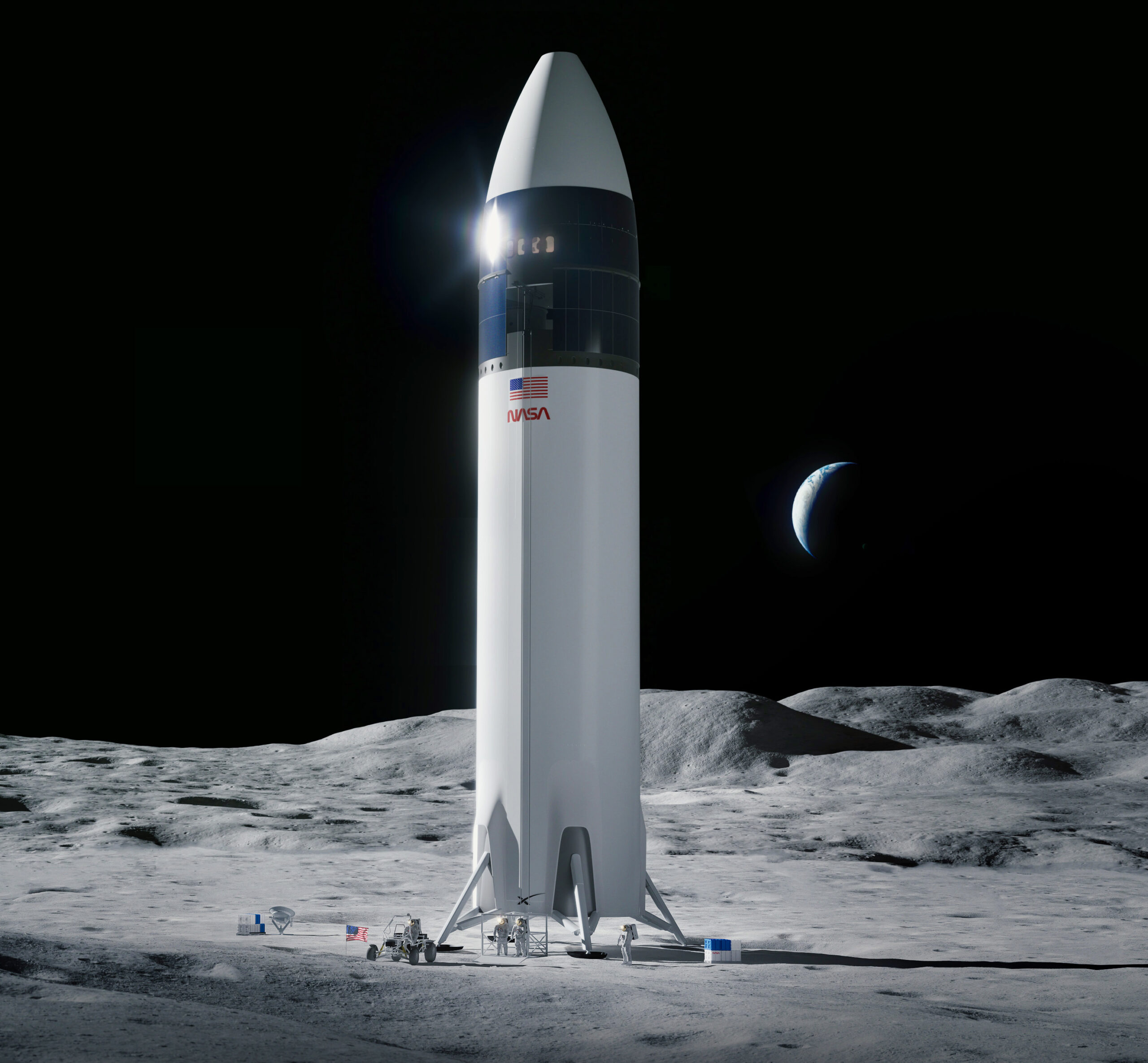 SpaceX plans Starships very first orbital test flight