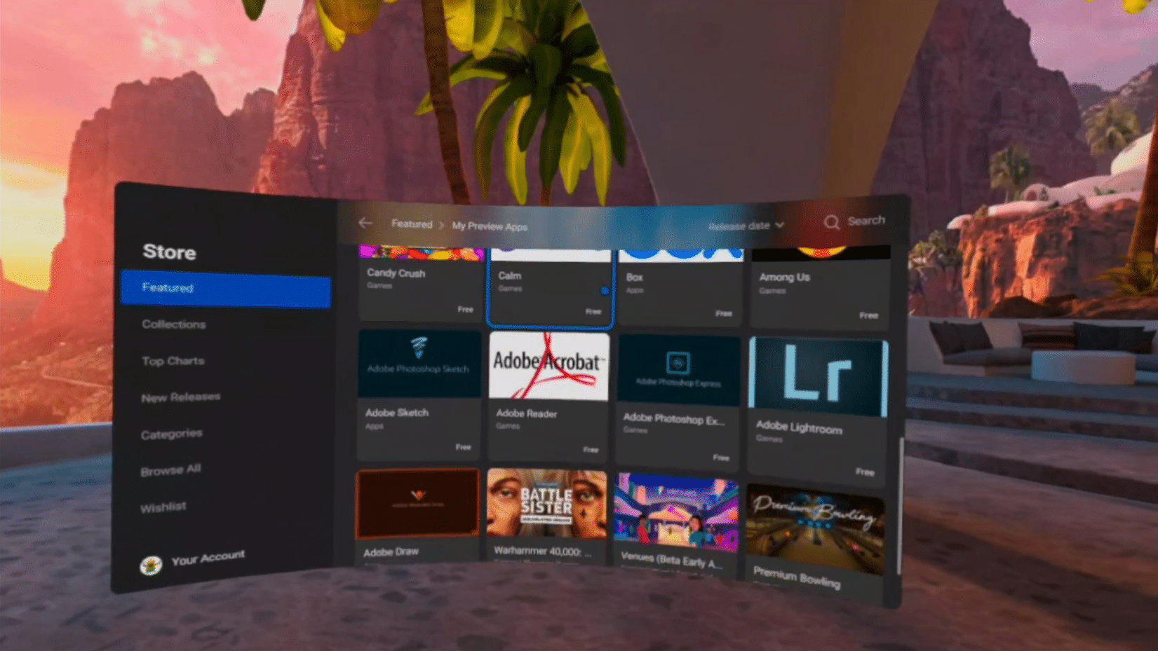 Soon ads inside the Oculus Quest virtual reality system will be tested by Facebook!