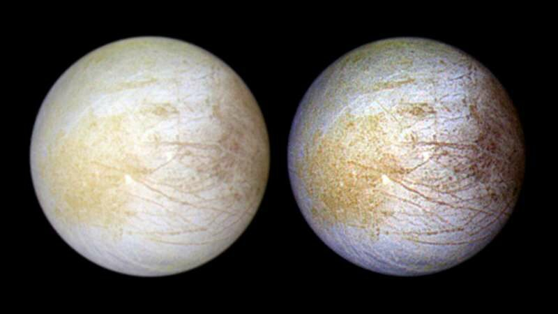 Hubble finds evidence of persistent water vapor in one hemisphere of Europa!